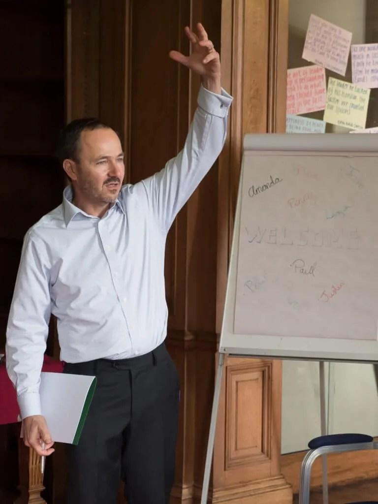 Charlie Warshawaski coaching