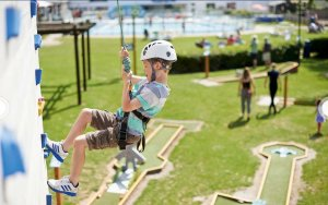 Haven Burnham-on-Sea Climbing Wall, Kids Activities