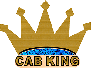 CabKing logo before redesign