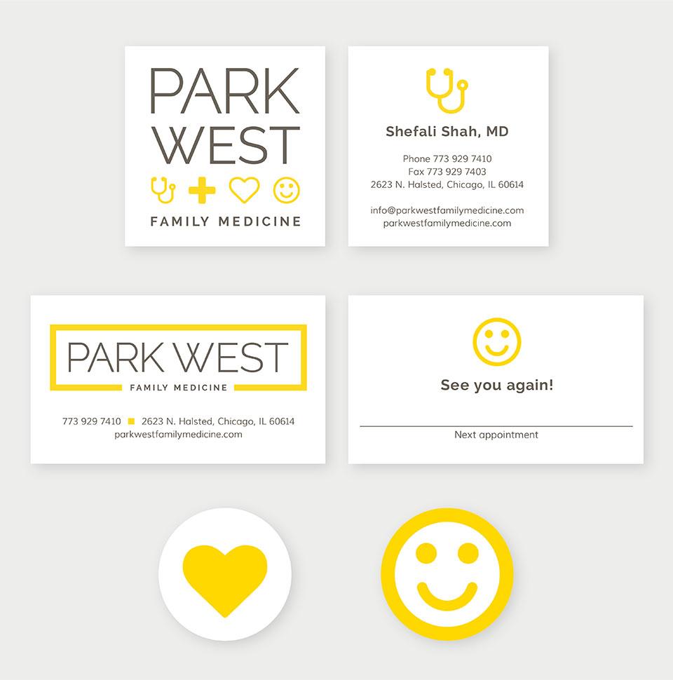 Park West Family Medicine branding