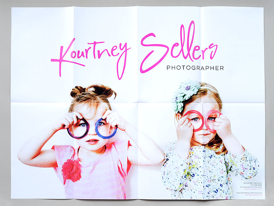 Kourtney Sellers promo poster by Bright Spot Studio