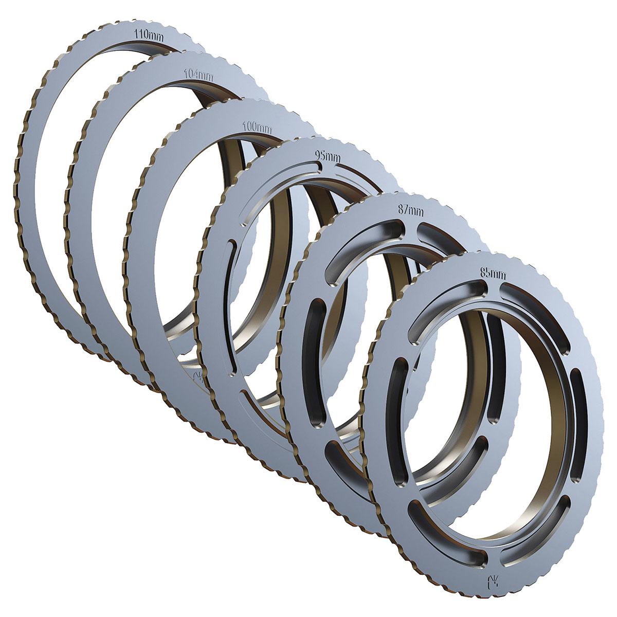 Bright Tangerine Strummer Donuts 114-110mm Threaded Adapter Ring