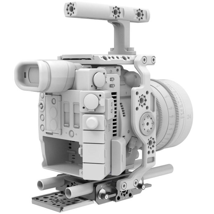 B4005.0001 Canon C200 LWS sliding Baseplate 11
