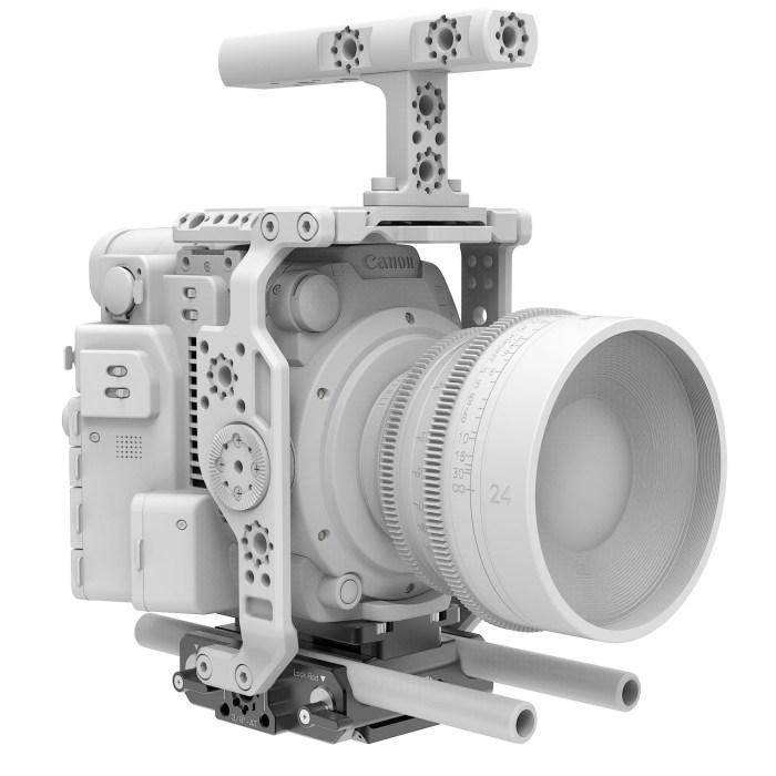 B4005.0001 Canon C200 LWS sliding Baseplate 13