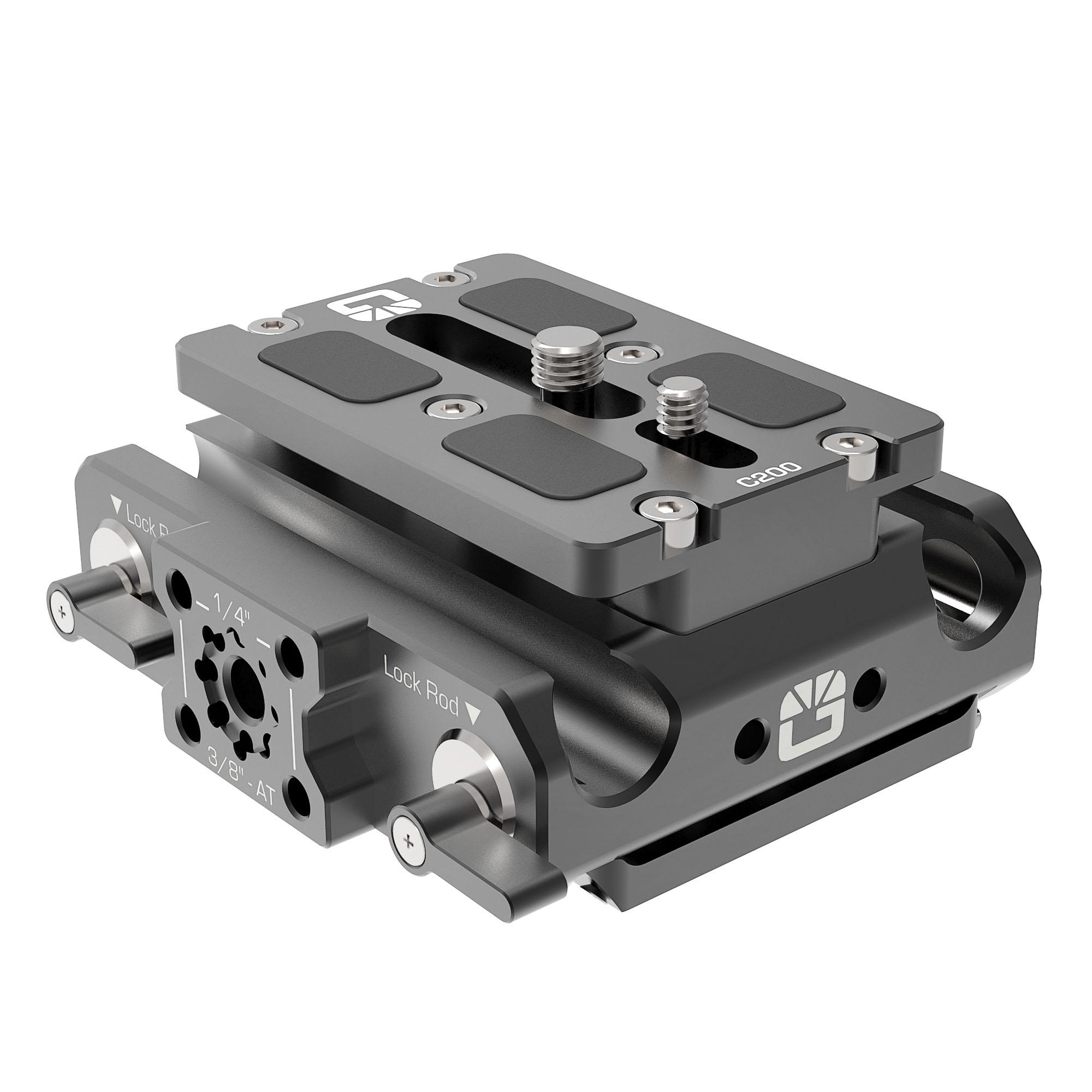 B4005.0001 Canon C200 LWS sliding Baseplate 2 1