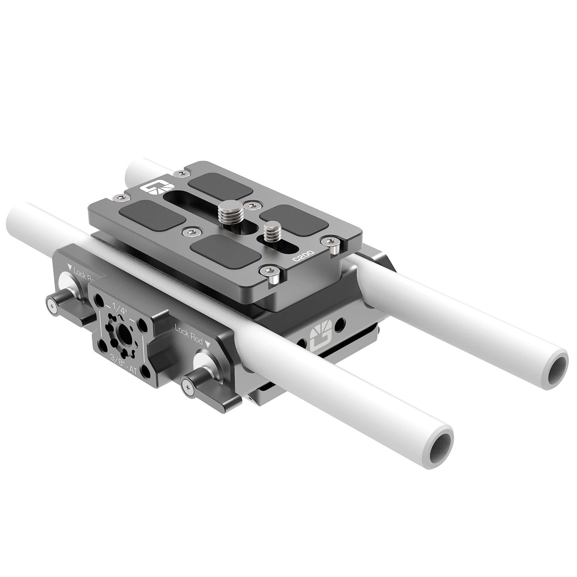 B4005.0001 Canon C200 LWS sliding Baseplate 7