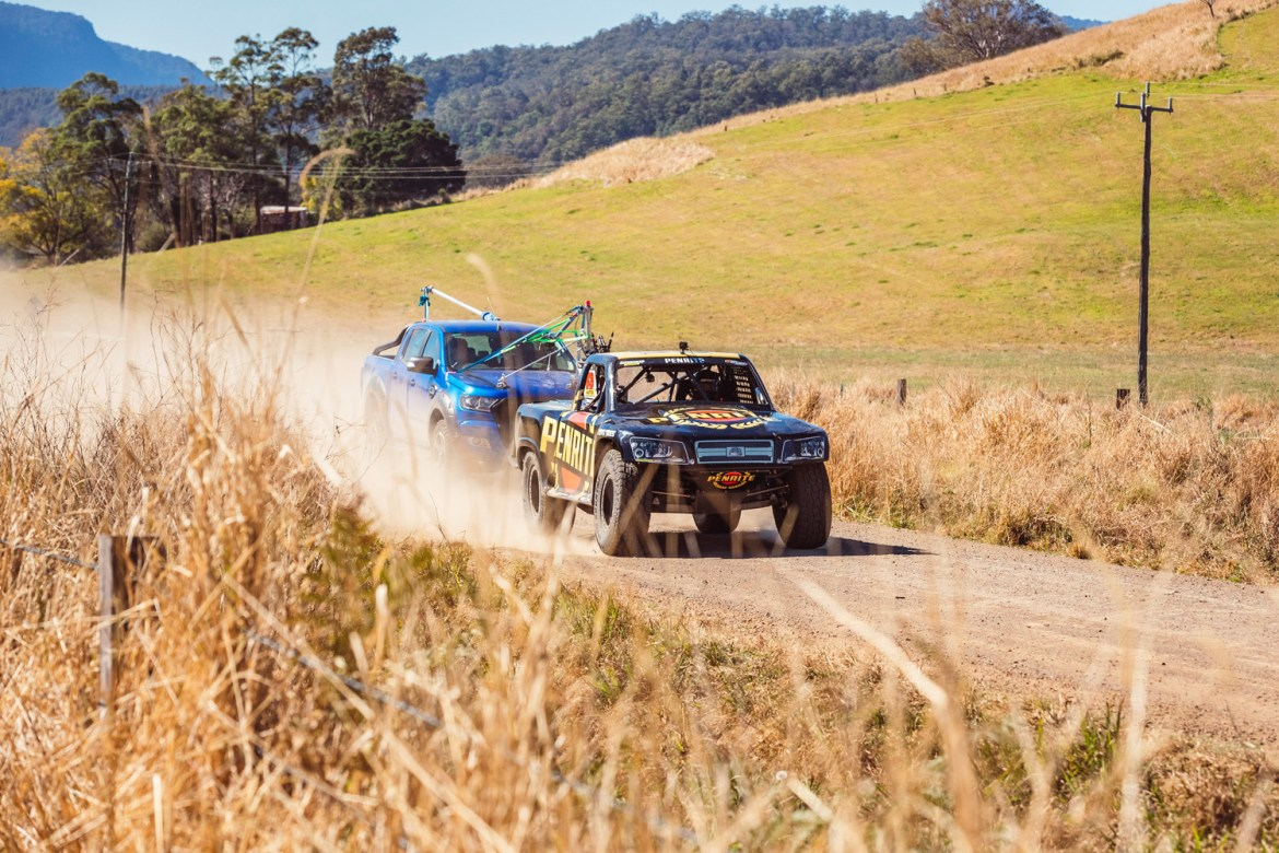 The Tickford tracking vehicle