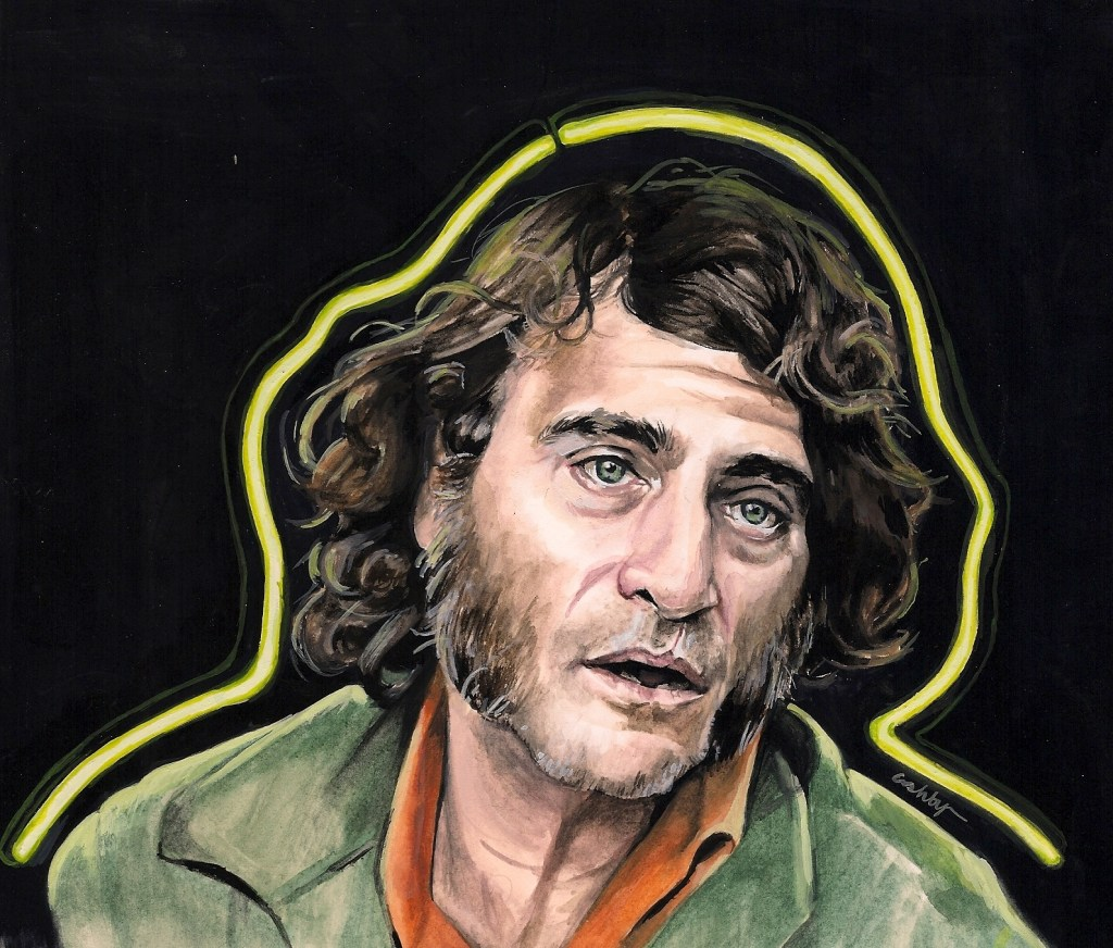Inherent Vice (2014)   art by Brianna Ashby