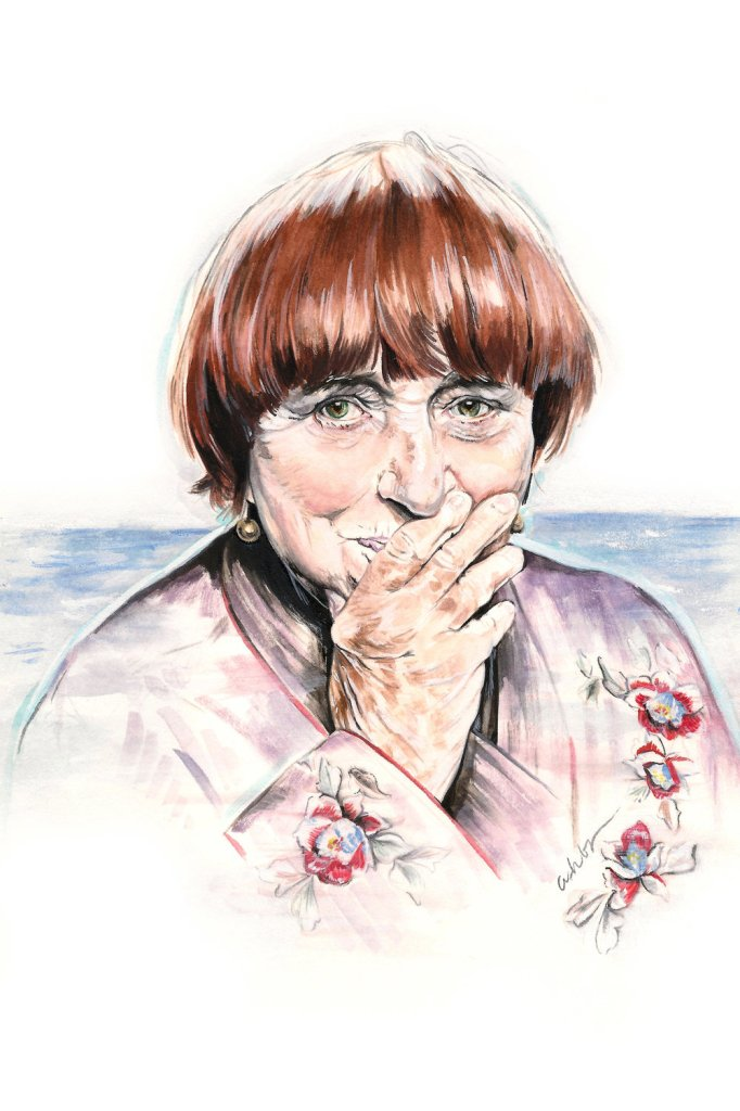 Agnes Varda | art by Brianna Ashby