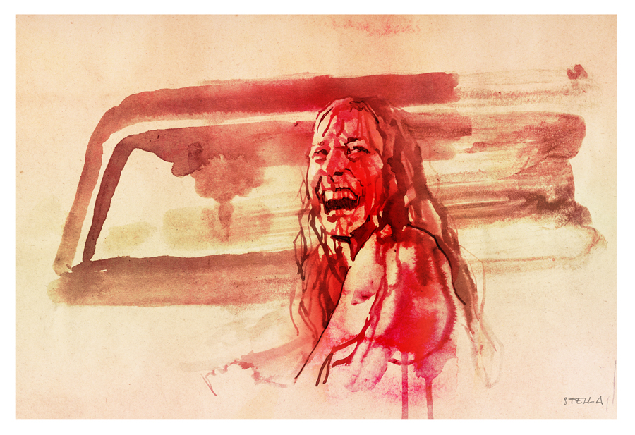The Texas Chain Saw Massacre | art by Tony Stella