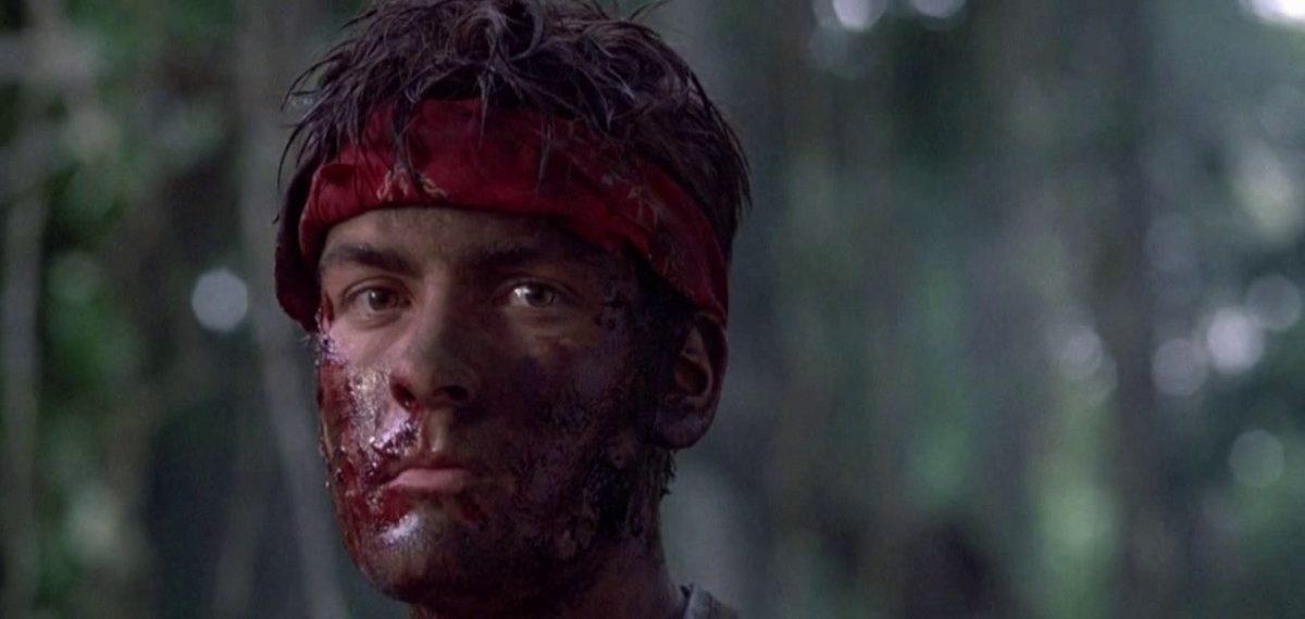"""Charlie Sheen in """"Platoon"""""""