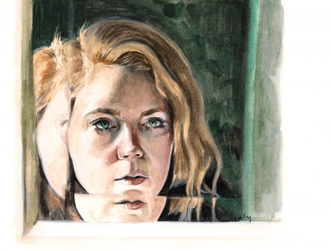 Amy Adams in Sharp Objects   art by Brianna Ashby