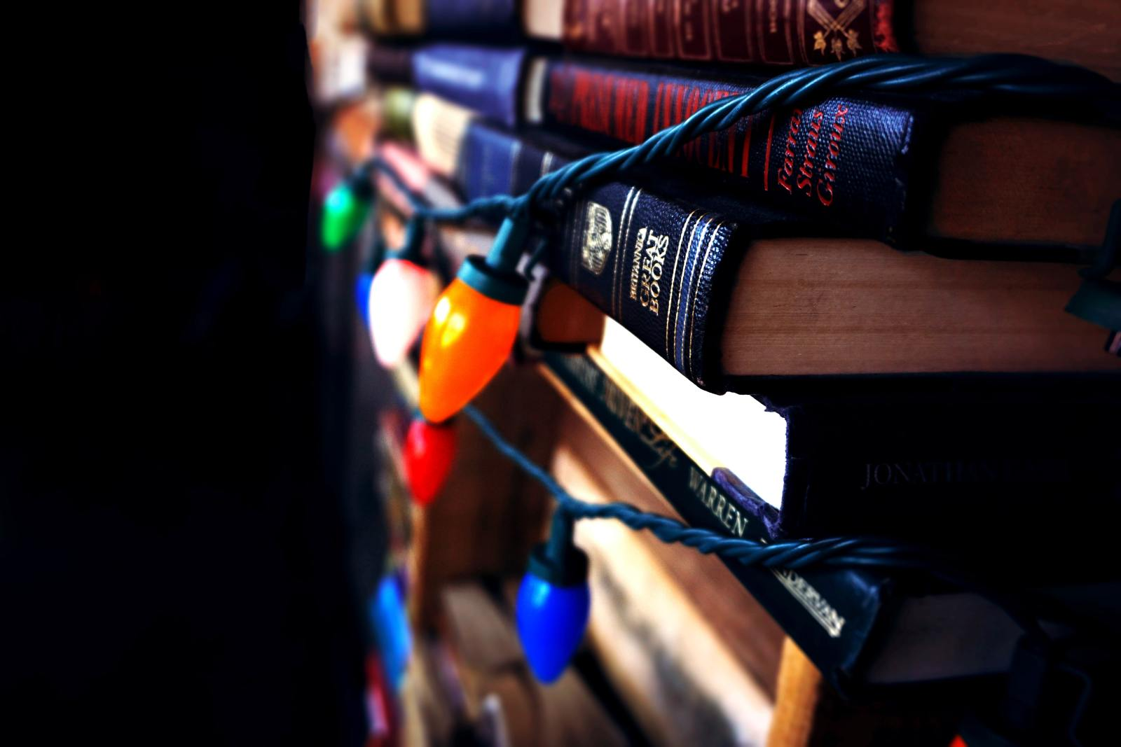 Books with Lights