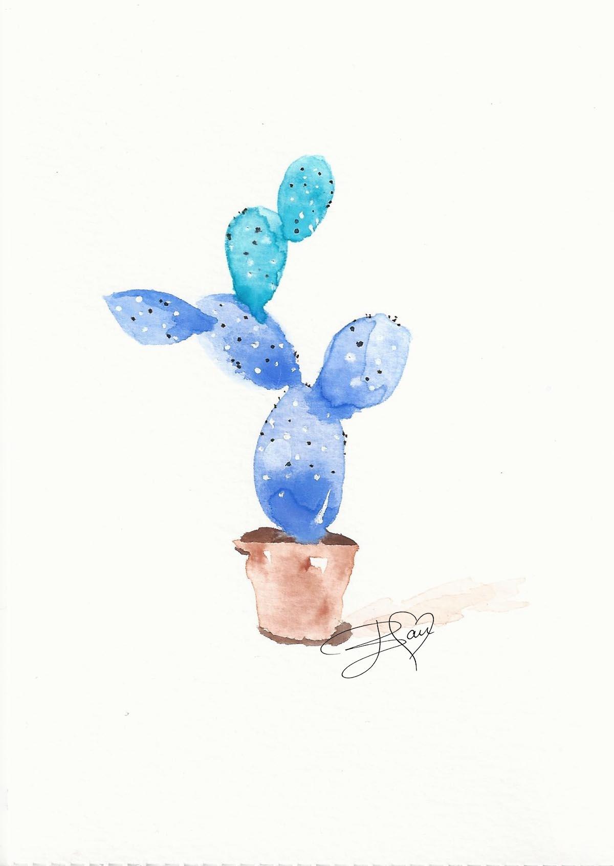 Cactus - Brigitte Dam