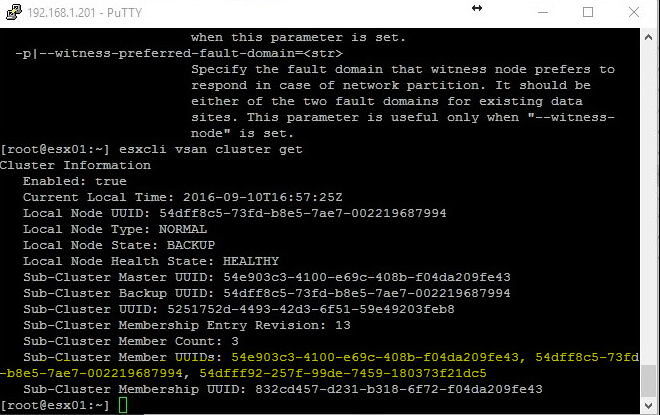 VSAN Power Outage VM's Inacessable