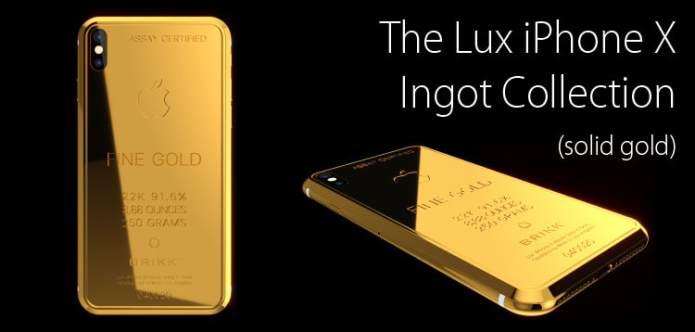 Αποτέλεσμα εικόνας για LUX IPHONE X INGOT 250