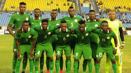 Image result for Super Eagles arrive in Morocco for 2018 CHAN