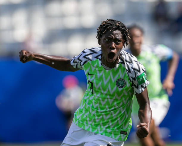EXCLUSIVE: Oshoala blasts CAF over AWCON, slams Football Federations for failure to condemn decision - Latest Sports News In Nigeria