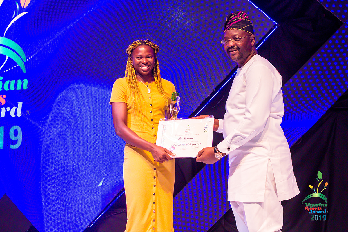 winners of nigerian sport awards 2019