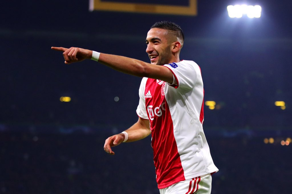 BREAKING! Chelsea agrees 45m deal with Ajax to sign Hakim Ziyech in the summer - Latest Sports News In Nigeria