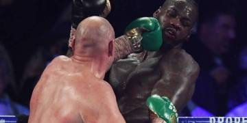 Deontay Wilder rushed to the hospital after brutal defeat by Tyson Fury - Latest Sports News In Nigeria