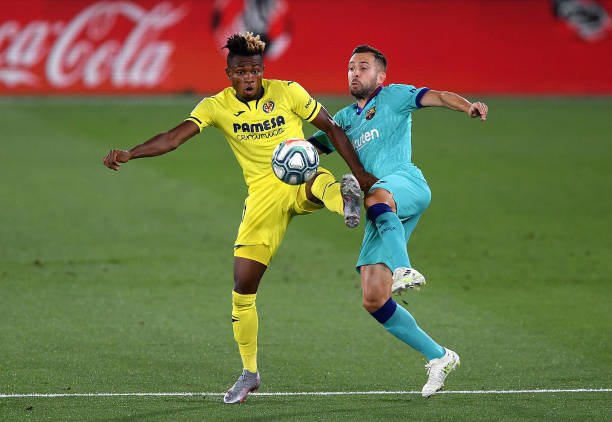 Chukwueze in action as Barcelona ends Villarreal's unbeaten run - Latest Sports News In Nigeria