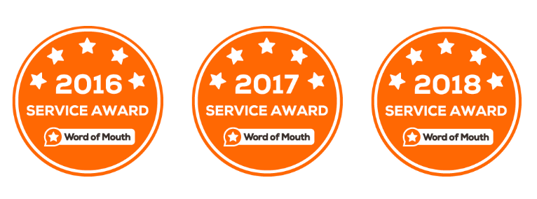 Word of Mouth Service Award