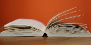 book with open pages