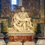 Michelangelo's Pietà at St. Peter's Basilica, Vatican City