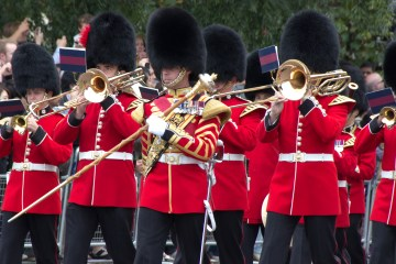 Marching band of the Queen's Guard