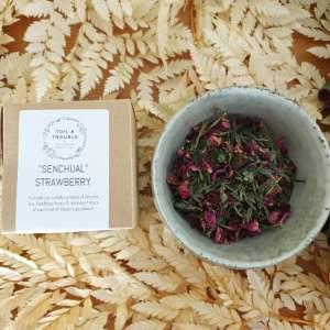 Senchual Strawberry tea single use