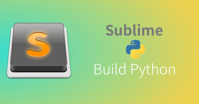 Sublime build python