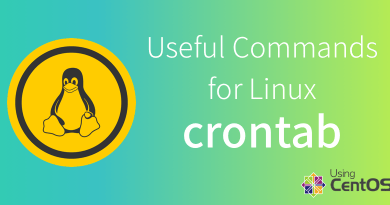 Useful commands for Linux - crontab