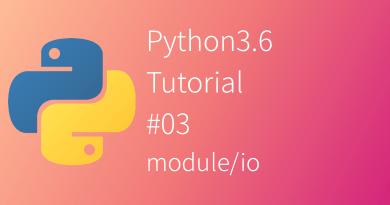 Python 3.6 Tutorial read open import format write print repr codec