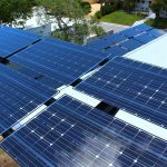 Commercial Solar Power Array