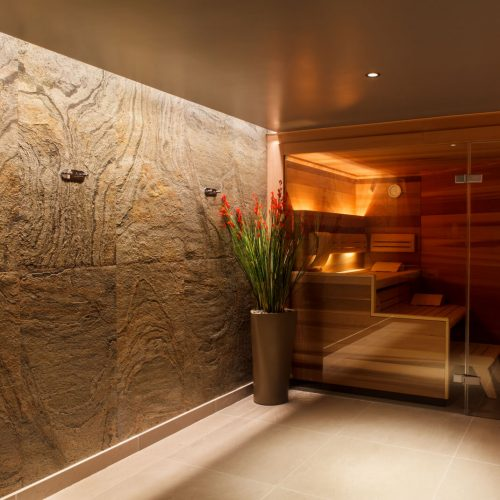 lighting a private pool spa