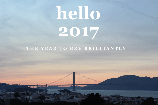 2017 – A good year to Bre Brilliant!