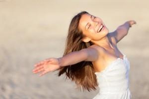 Happy woman2_123rf