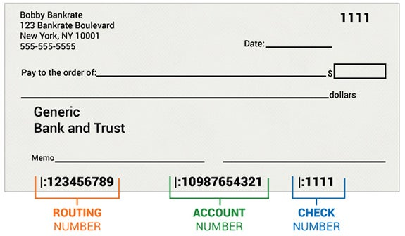 Union Bank Check Routing Number