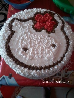 Check Out This Hello Kitty Cake Design Brinacreations