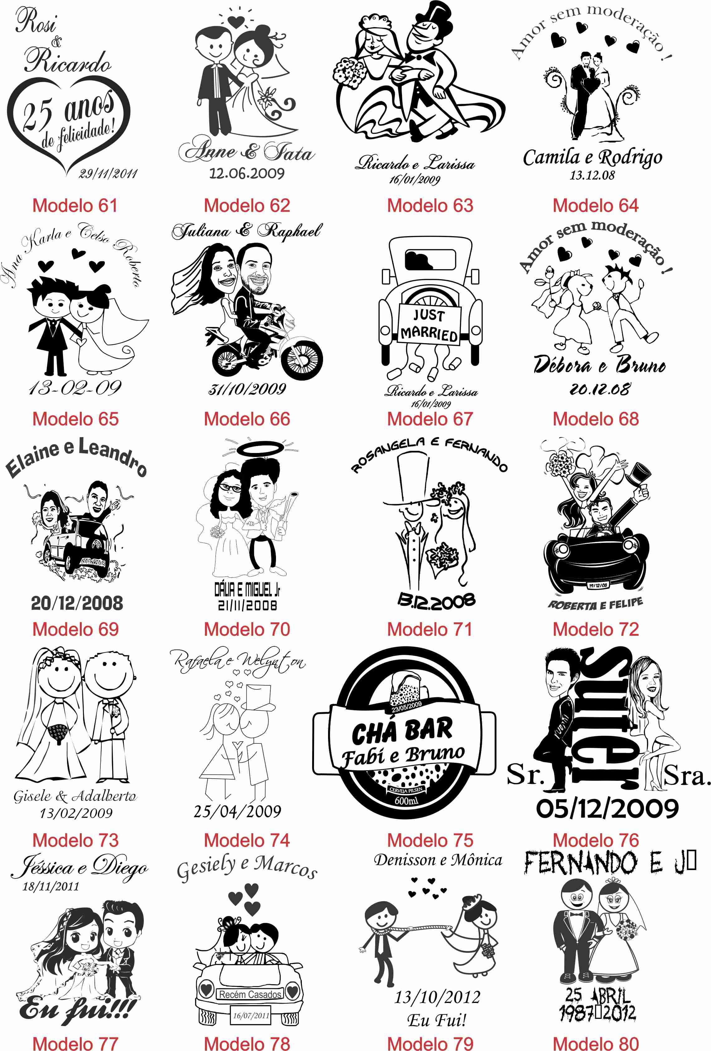 Arte E Clipart Sugestoes Para Copos Long Drink Canecas E