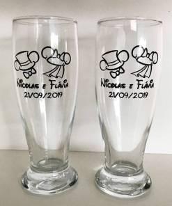 Copos de Vidro Tulipa para Cerveja Personalizados Modelo Munich 300ml para Brindes e Eventos 5