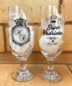 Taças de Vidro Personalizadas de Cerveja Floripa 300ml 13