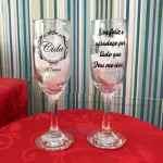 Taça de Champanhe Gallant Cida 50 Anos