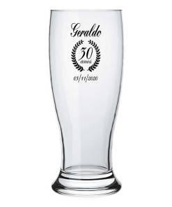 Copos de Vidro Tulipa para Cerveja Personalizados Modelo Munich 200ml para Brindes e Eventos