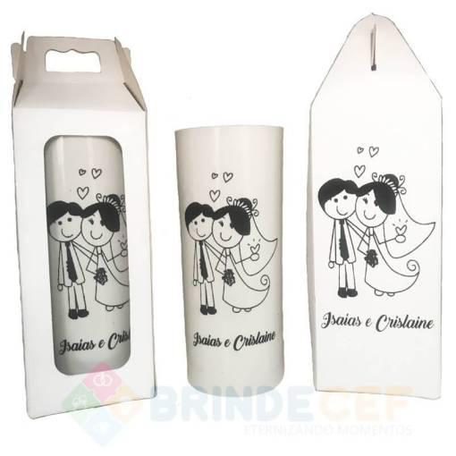 Kit Caixinha Copo Long Drink Personalizado