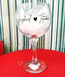 Taça de Vidro de Gin 600ml Personalizada 2