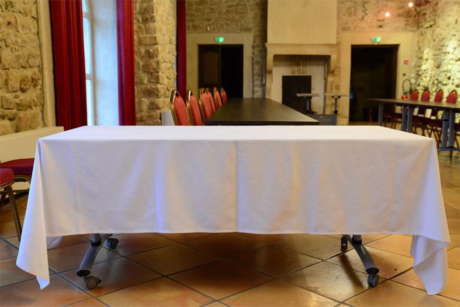 Location linge de table à Narbonne 11 et Perpignan 66