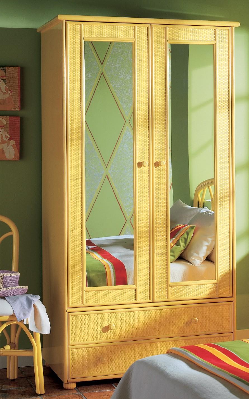 Armoire 2 Portes Miroir Brin DOuest