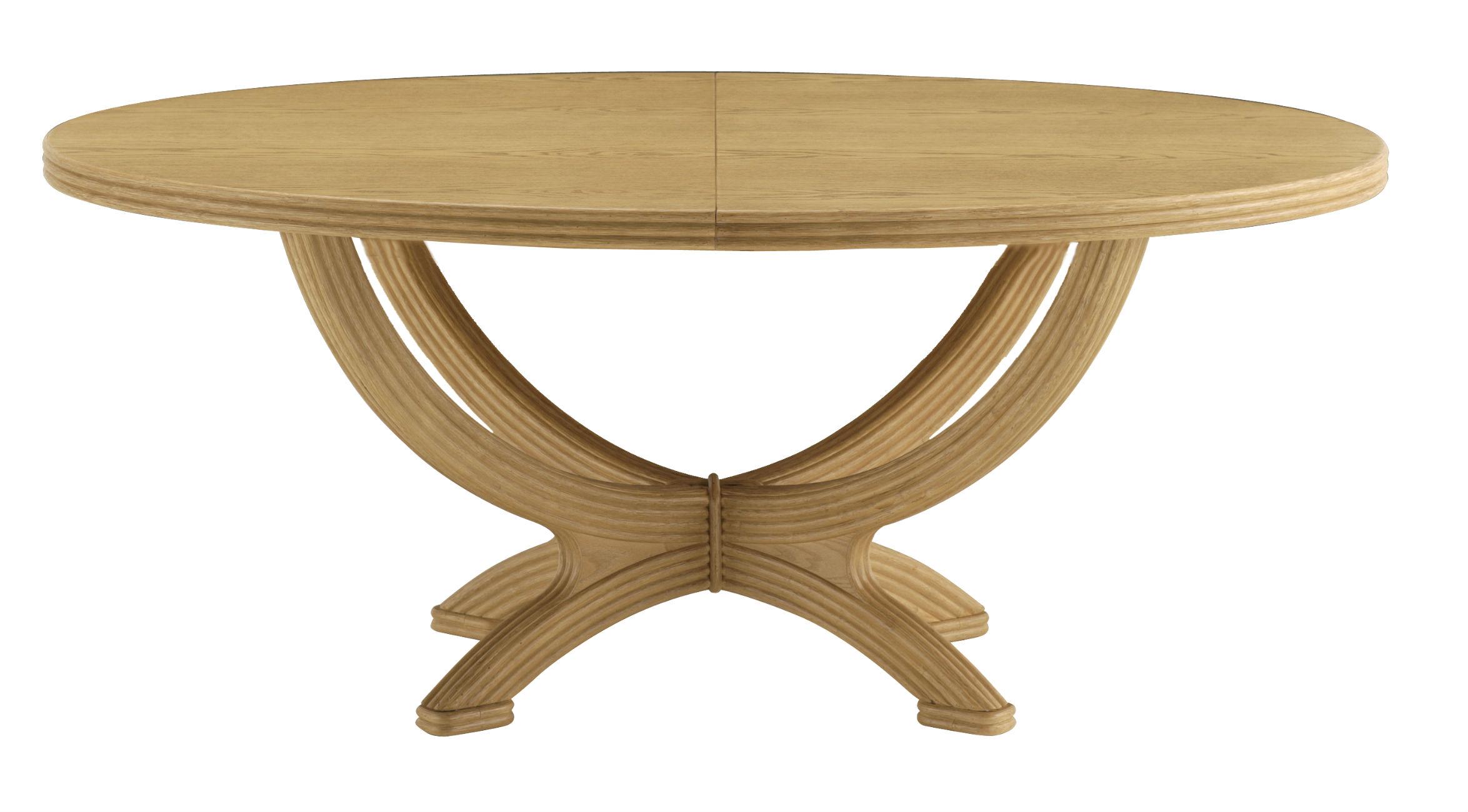 Table Ovale Avec Rallonge Brin DOuest
